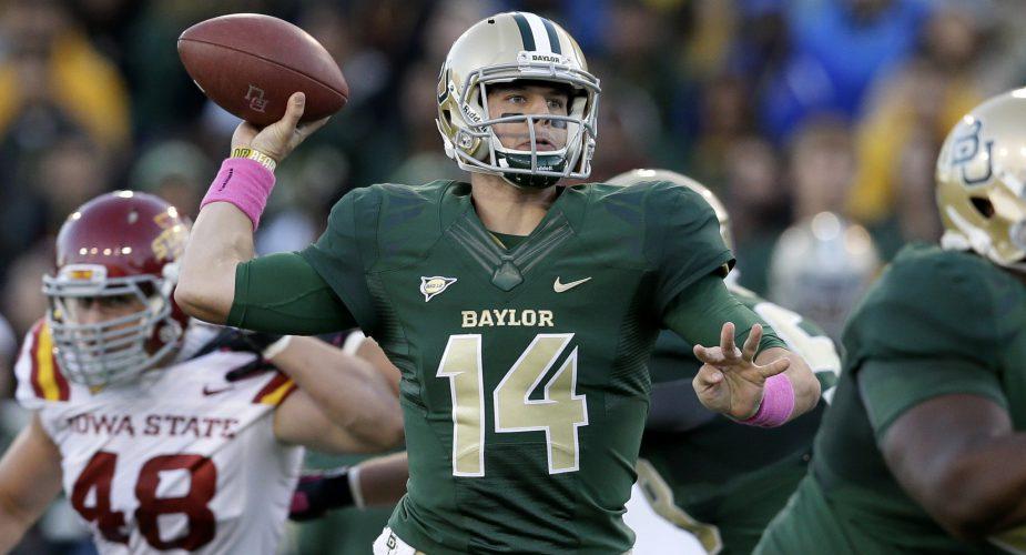 Jets Grab Baylor Quarterback Bryce Petty