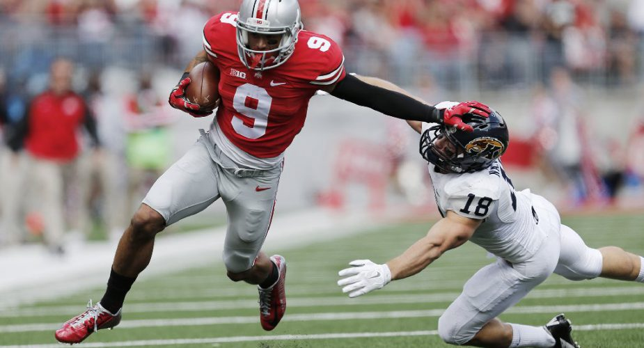 Jets Select Ohio State Receiver Smith In Round Two