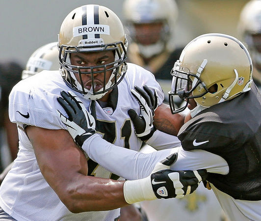 Gang Green brings in former Saints and Giants  offensive tackle Chalrles Brown