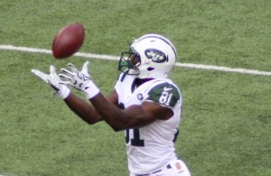 Quincy Enunwa hauled in five passes from Fitzpatrick.