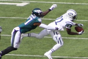 Kerley had 11 targets and a score against the Eagles.