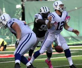Jets Tackle Colts, Win 20-7 In Week 2