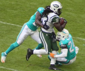 Chris Ivory enjoyed a career day behind Winters and company.