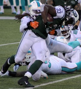 Ivory broke multiple tackles on this 31-yard touchdown run.