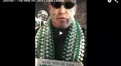 Jetman – The New NY Jets Chant Leader