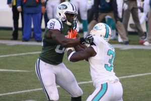 Quincy Enunwa became a bigger part of the offense than at any point in his two pro seasons.