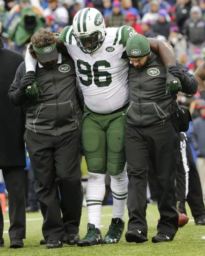Broken Leg For Wilkerson