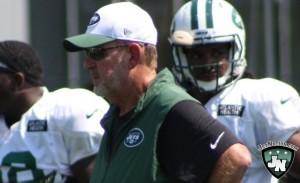 Chan Gailey guided the Jets to the NFL's 11th ranked scoring offense in 2015.
