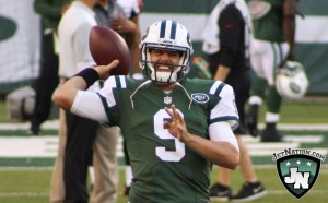 Second-year signal caller Bryce Petty is in the running for the no. 2 spot on the Jets depth chart.