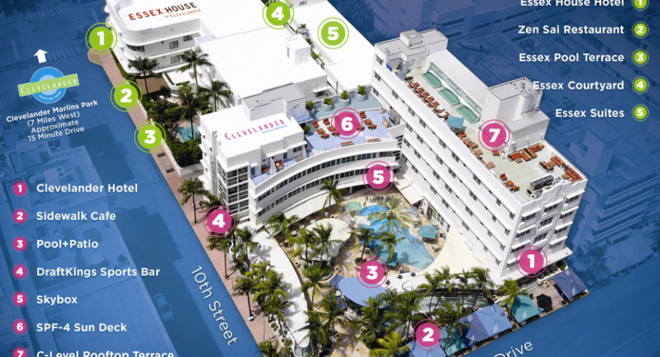 Jet \ Dolphins Hotel Deal (Clevelander South Beach)