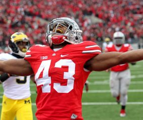 Darron Lee on being drafted by the NY Jets