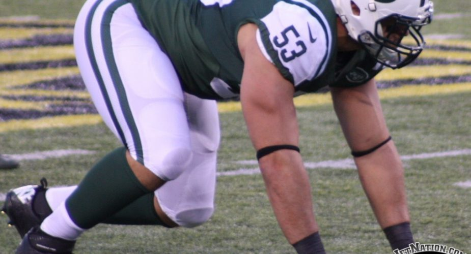 Jets' Catapano to get Chance at Starting Linebacker Spot