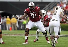 Brandon Shell- OT/G  South Carolina- 5th Round