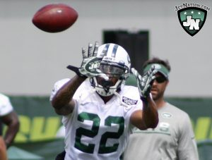 Matt Forte made his camp debut on Wednesday.