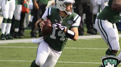 Jets Look to Keep QB's Upright in Battle Against Rams