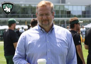 Jets GM Mike Maccagnan negotiated a 1-year deal with Fitzpatrick this off-season.