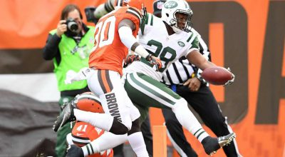 Jets Bounce Browns, 31-28