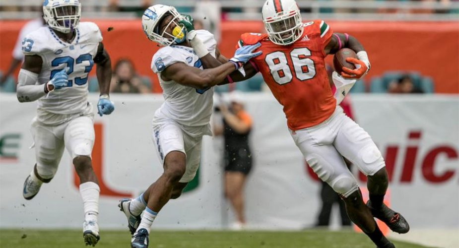 Report: Jets set to Host Miami Tight End Njoku