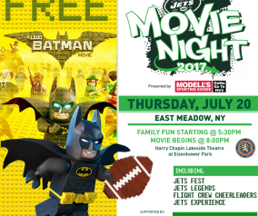 Jets Movie Night (East Meadow, NY)
