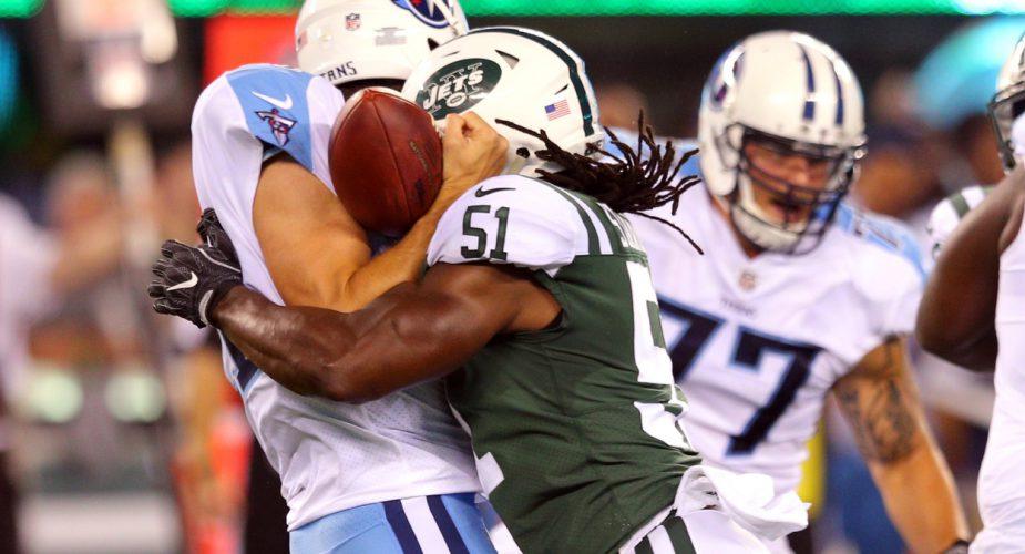 Jets Sack Titans; Win Preseason Opener