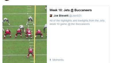 Joe Blewett Film Break Down: Jets vs Bucs