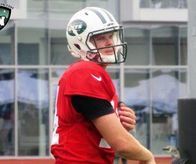 Darnold a hit in Training Camp Debut