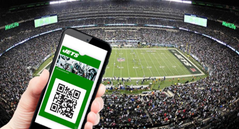 Mobile Ticket Information for 2018 Jets Games at MetLife Stadium