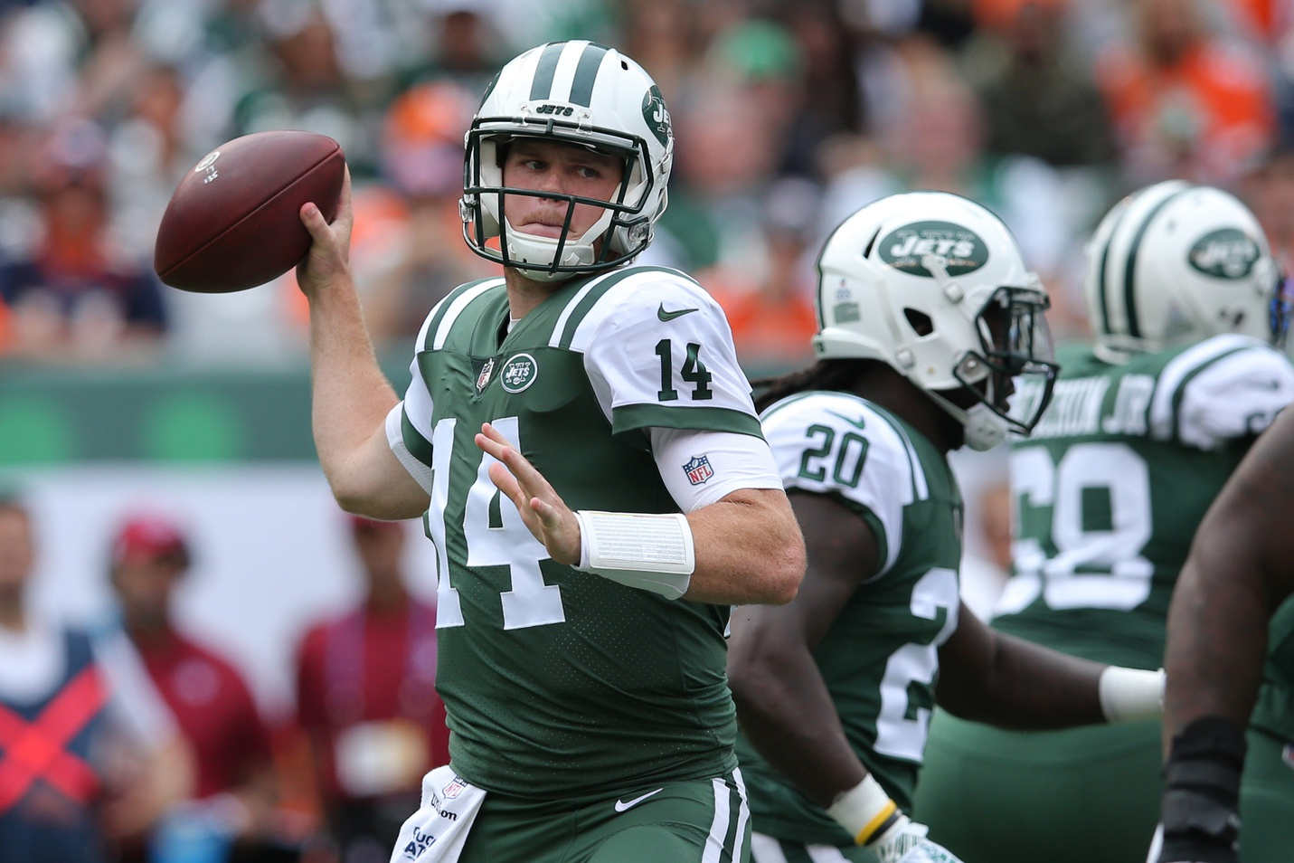Darnold Practices Other Injury Updates Jetnation Com Ny
