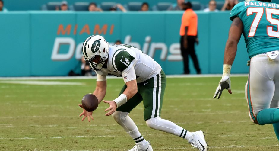 Sam Darnold Misses Practice Due To Foot Injury