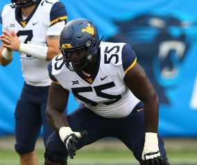 JetNation Prospect Preview: West Virginia OT Yodny Cajuste