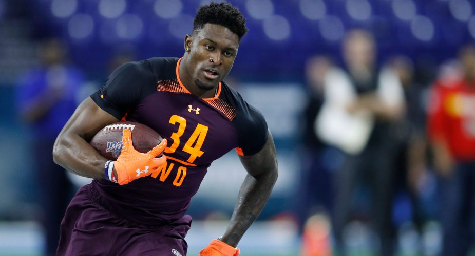 Metcalf Impresses Jets With Lights out Combine Performance