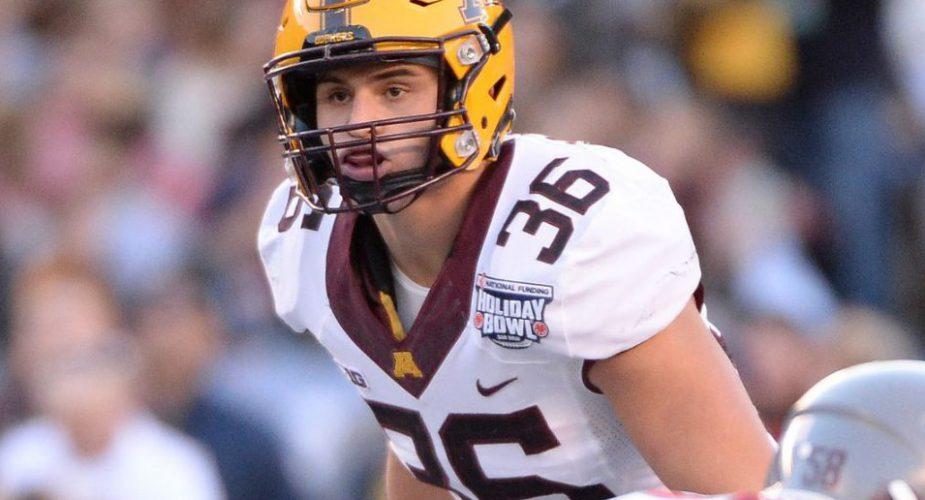 Jets go Defense Again, Select Minnesota Linebacker Blake Cashman