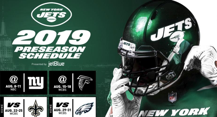 Jets Preseason Order Announced