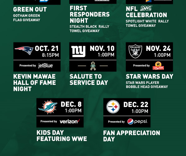 Jets Announce 2019 Game Themes