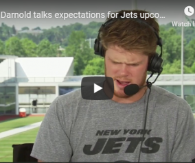 Michael Kay Show at #JetsCamp with Darnold & Gase