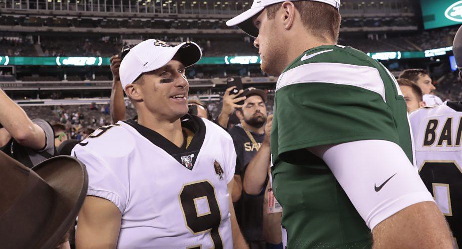 Jets \ Saints Game Observations