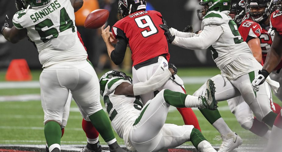 Jets/Falcons Observations