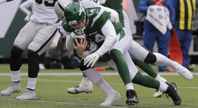 Darnold Throws for 315 Yards as Jets Rout Raiders 34-3; Week 12 Report Card