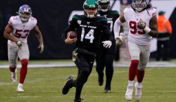 Jets Jolt Giants With 34-27 Victory; Week 10 Report Card