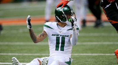 Big day From Robby Anderson Helps Lift Jets Over Phins; Week 14 Report Card