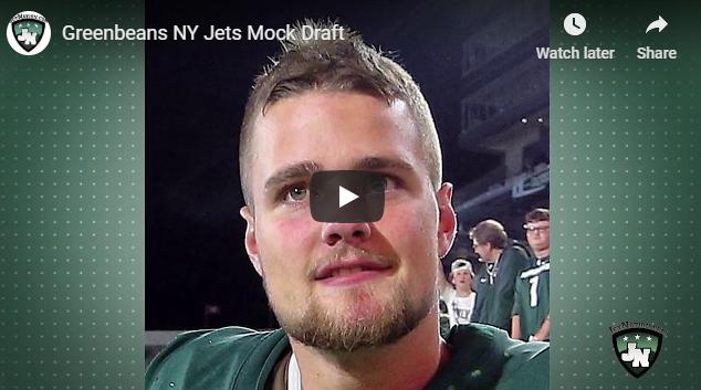 Greenbeans NY Jets Mock Draft