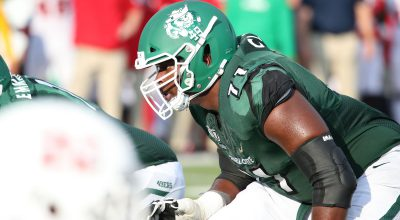 Jets Select Charlotte OT Cameron Clark (4th Round #129 Overall)