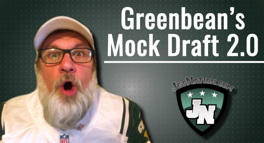 GreenBean's Mock Draft 2.0