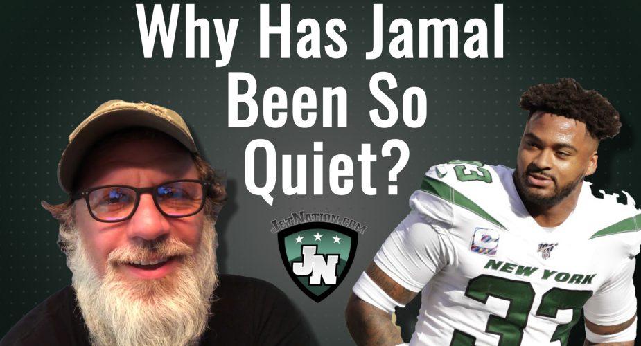 Why Has Jamal Adams Been So Quiet?