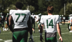 Mims Back to Practice, Darnold Out; Other Moves