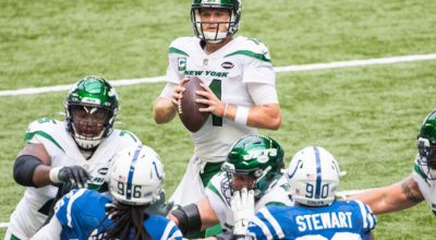 Jets @ Colts Week 3 Recap: Darnold's Two Pick-6s; Defense Socially Distanced