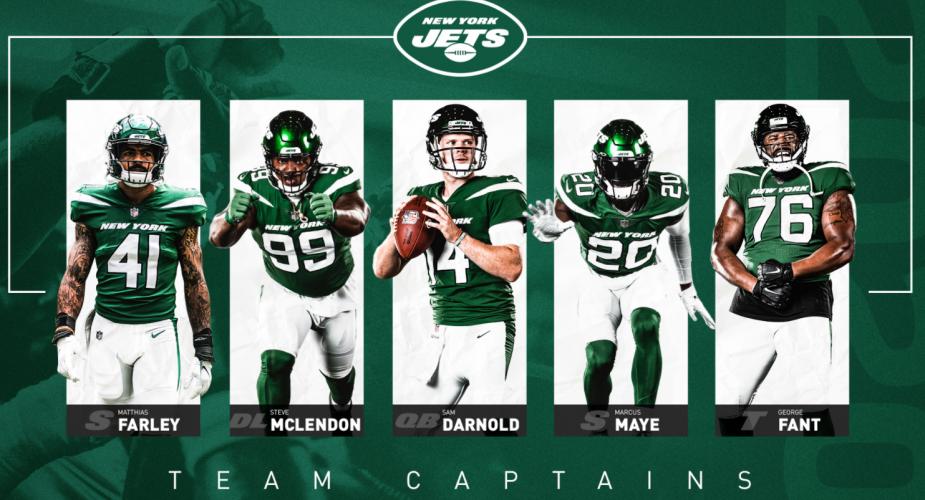 Jets Name Team Captains