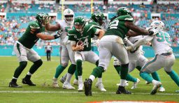 Dolphins @ Jets Week 12 Game Recap: Darnold Tosses Two Picks, Dolphins Pummel Jets 20-3