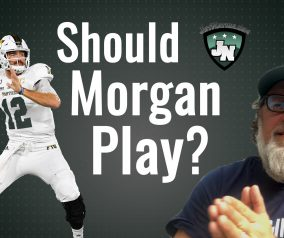 Should James Morgan Play?