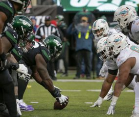 Dolphins @ Jets Week 12 Inactive List: Darnold, Big 3 Set to Debut